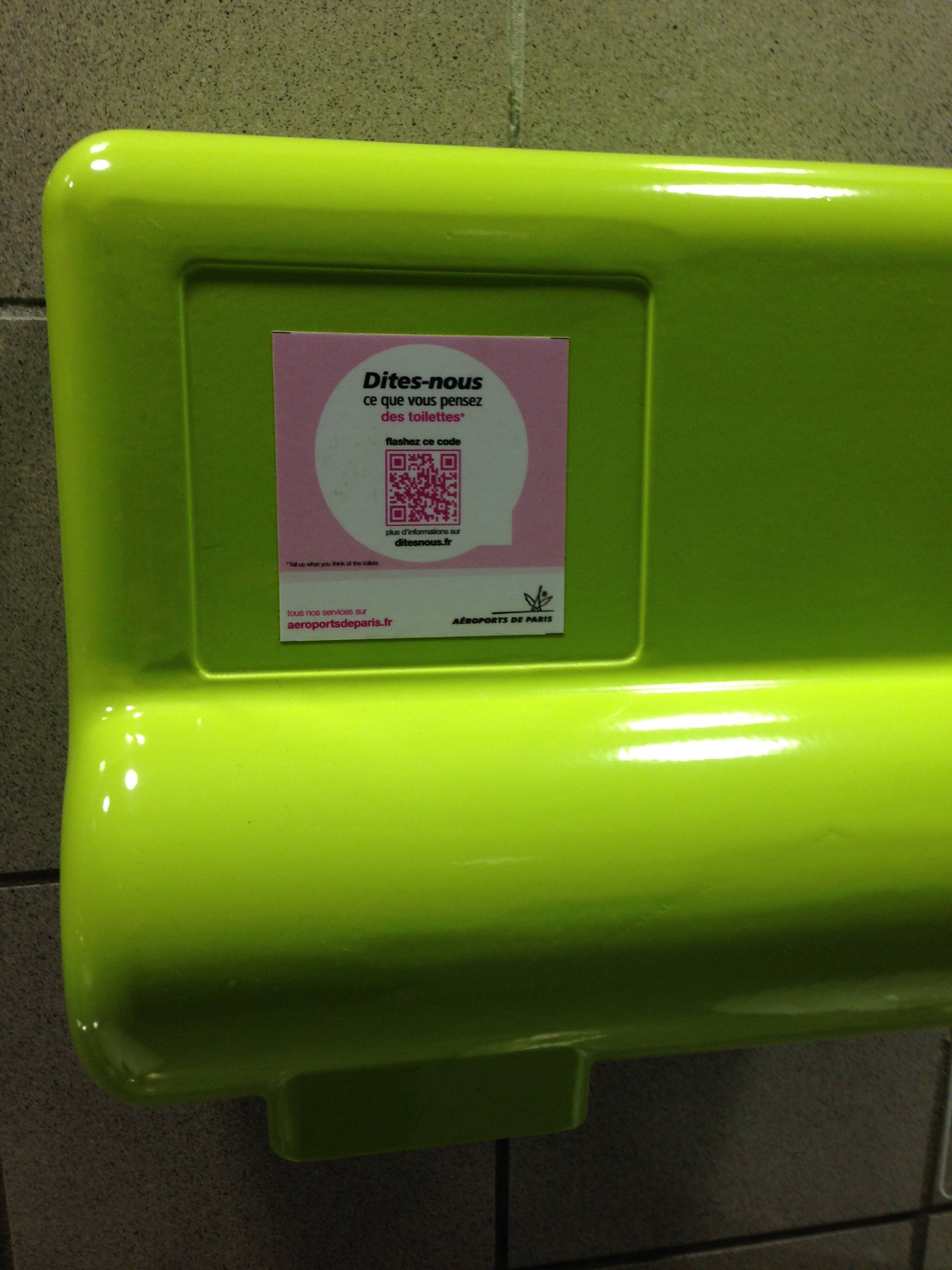 QR code at ADP, The Myndset digital marketing brand strategy