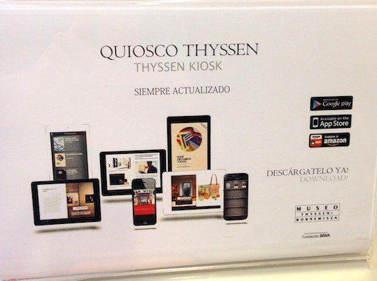 Digital Mindset Thyssen-Bornemisza Museum in Madrid - the myndset digital marketing