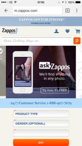 Zappos mobile customer service - myndset digital strategy
