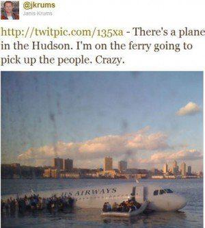 NYT - Twitter Hudson river social media editor communication