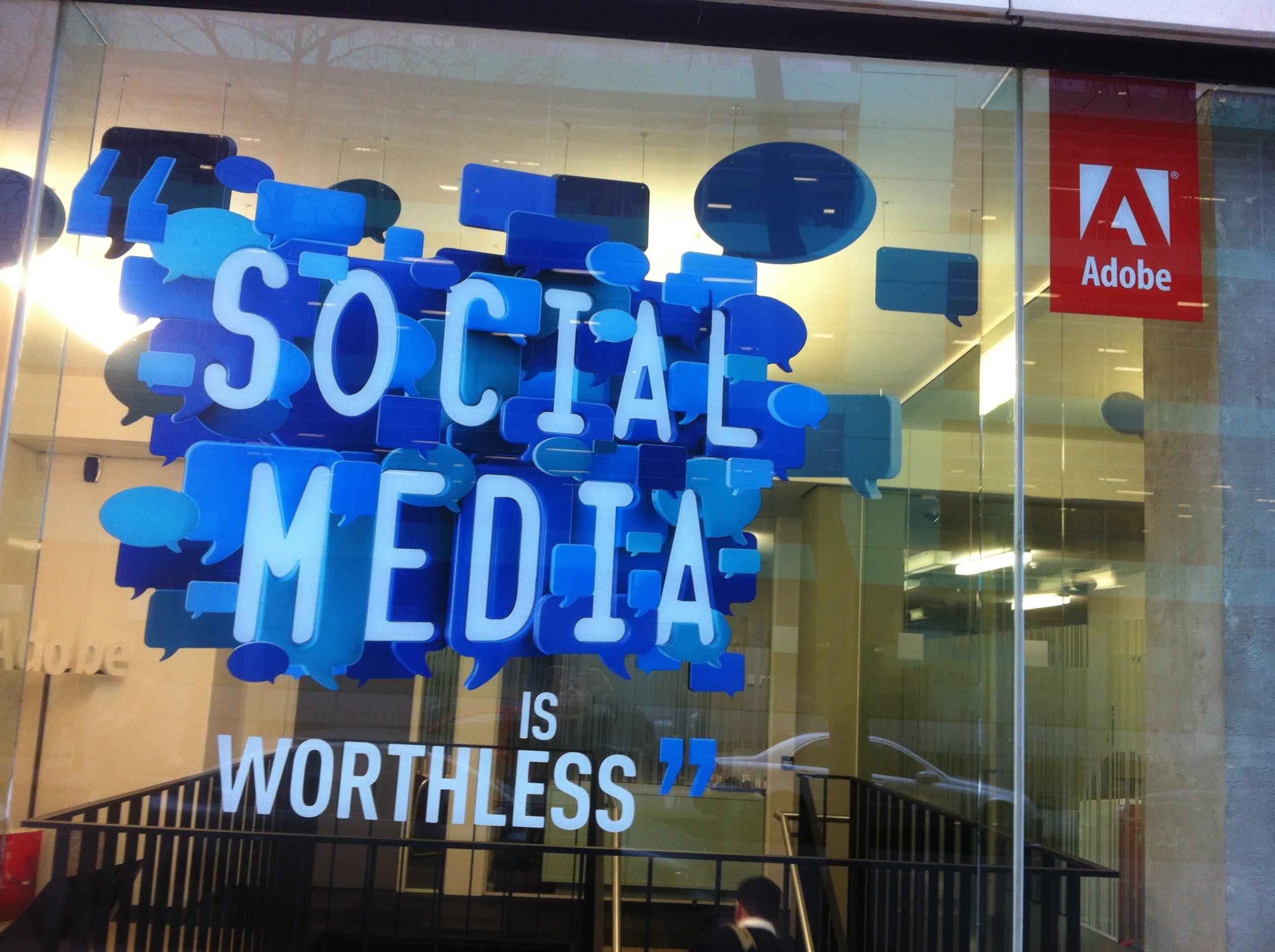 Adobe Social Media is Worthless, The Myndset Digital Marketing and Brand Strategy