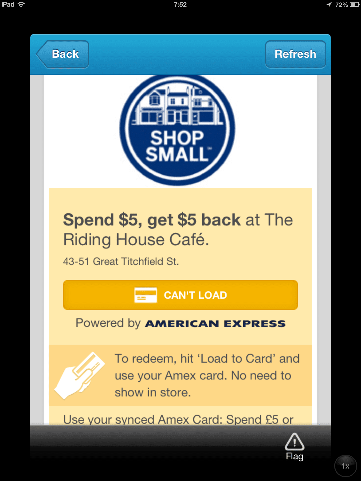 American Express Foursquare, The Myndset Digital Marketing and Brand Strategy