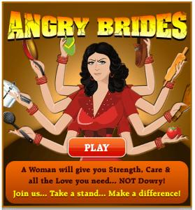 Angry Brides, on The Myndset Digital Marketing