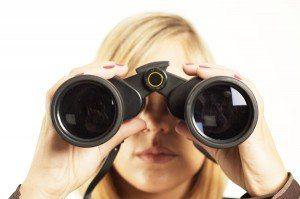 Looking through binoculars, The Myndset Brand Strategy and Digital Marketing