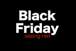 Black Friday Sales Seeing Red