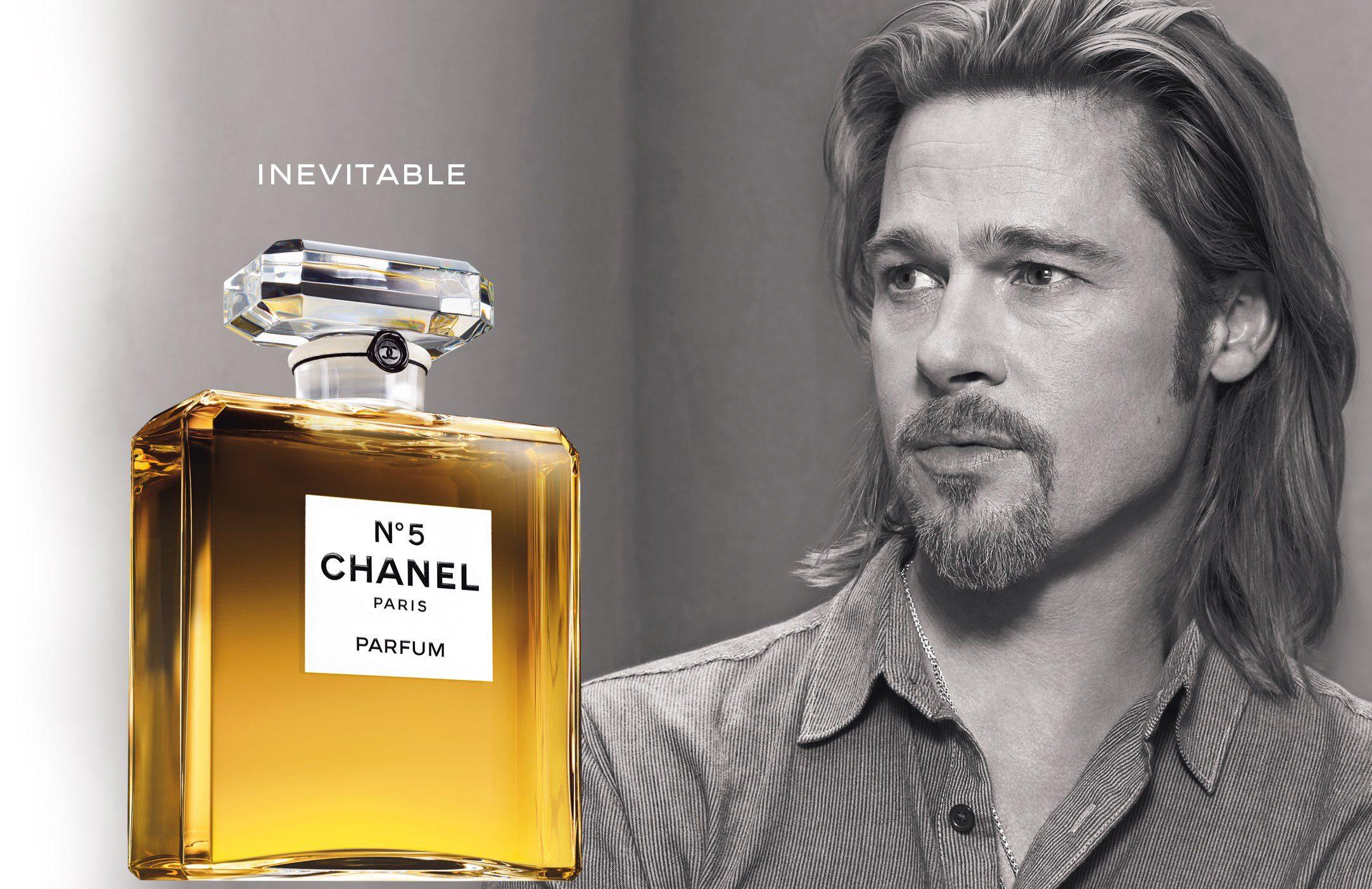 Brad-Pitt-Chanel-No 5 Celebrity endorsement, The Myndset Digital Marketing