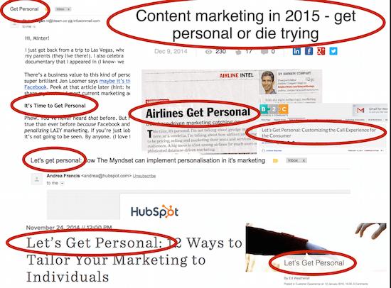 Branding gets personal, The Myndset digital marketing