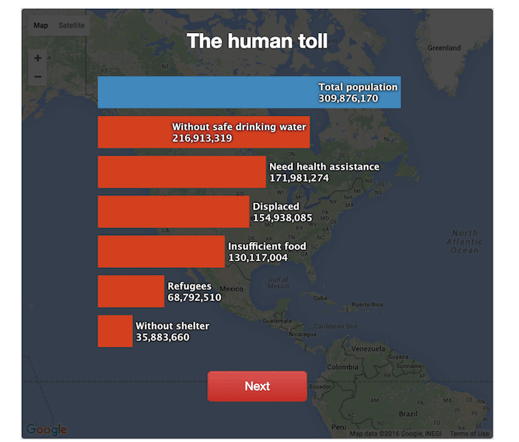 Data Journalism PRI - What if Syria War Happened in Your Country 2