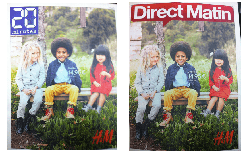 Direct Matin 20 Minutes H&M