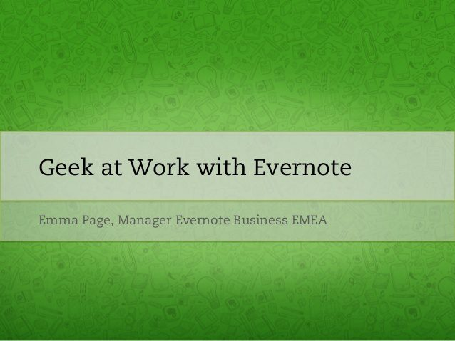 Evernote Emma Page, The Myndset digital marketing brand strategy