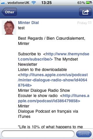 Facebook email inbox