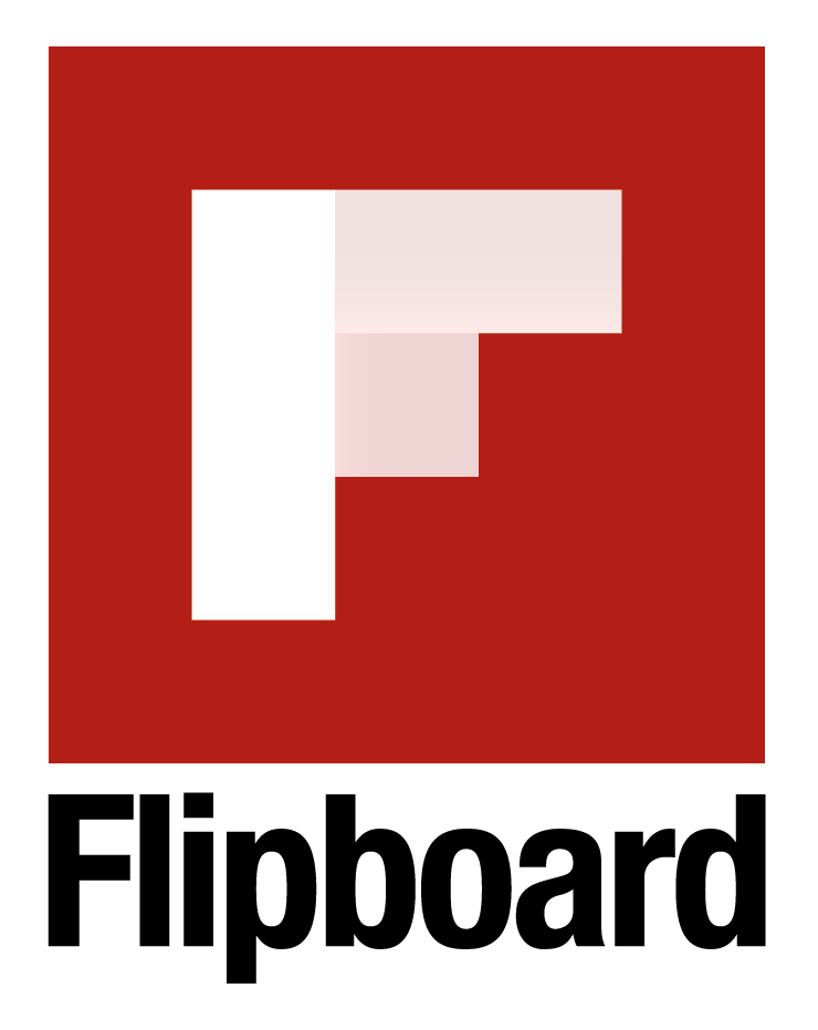 Flipboard Logo, with The Myndset