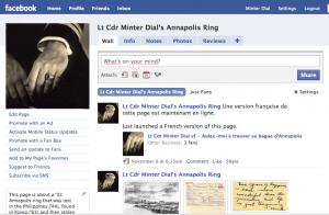 Lt Cdr Minter Dial Facebook page