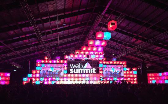 Main stage #websummit