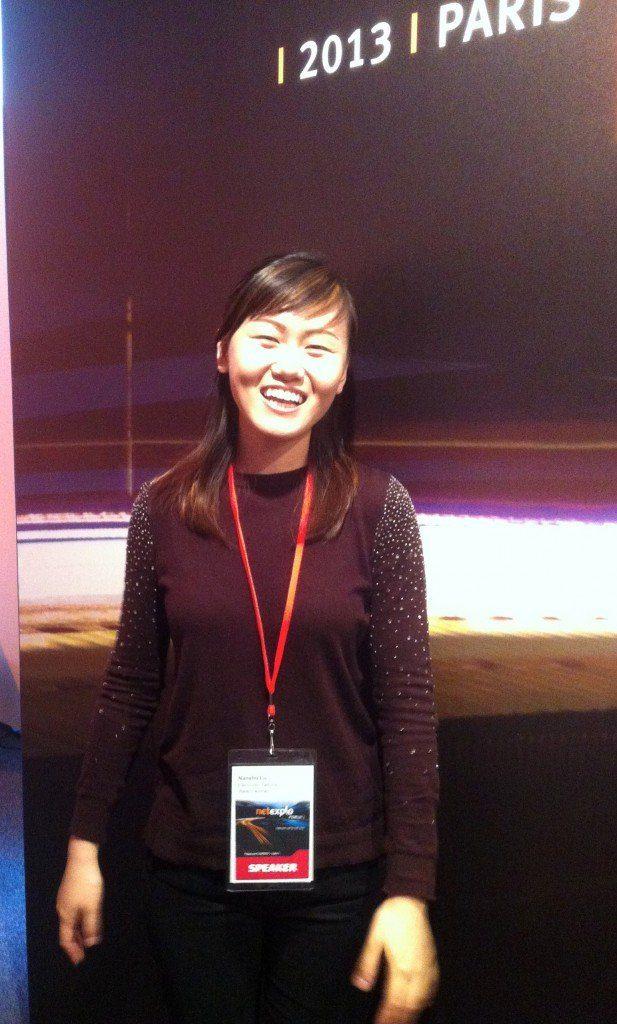 Nanshu Lu at Netexplo, The Myndset New technology and Brand Strategy