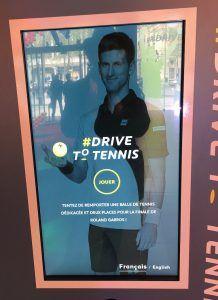 Peugeot Drive to Tennis Djokovic 1