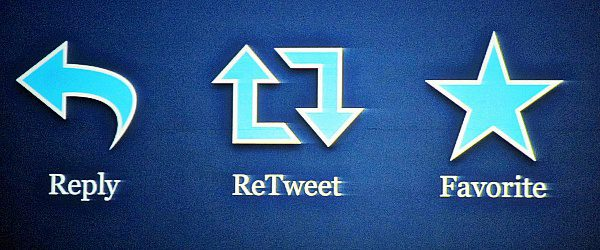 Reply-Retweet-Favorite Twitter