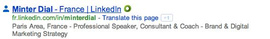 Google result for LinkedIn, The Myndset Digital Marketing Strategy