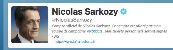 Nicolas Sarkozy on Twitter, The Myndset Brand and Digital Marketing Strategy