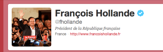 Francois Hollande on Twitter, Myndset Digital Marketing Strategy
