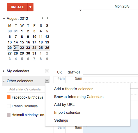 How to download Facebook birthday dates into Google Calendar