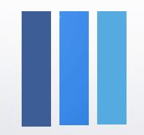 Facebook, Twitter & Google Blue, The Myndset Digital Marketing & Brand Strategy
