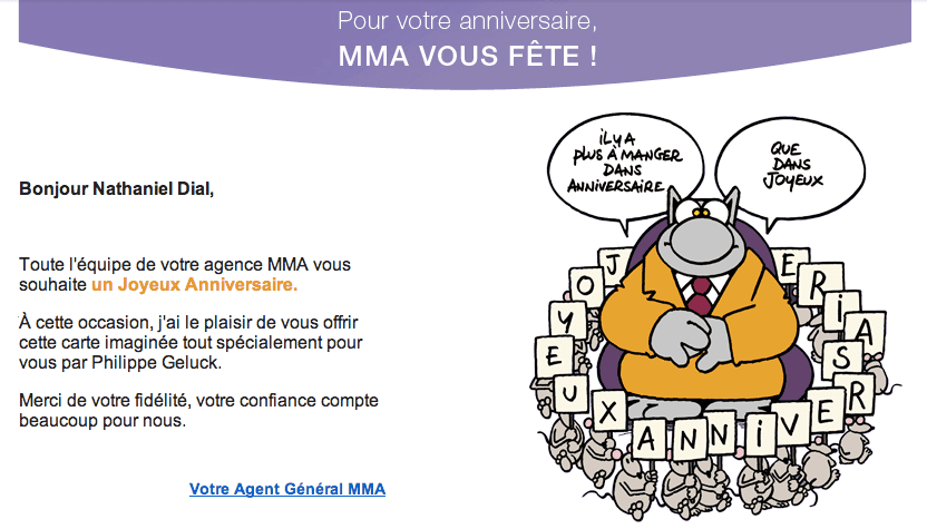 MMA Wishes for Birthday, The Myndset digital marketing and brand strategy