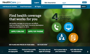 Obamacare website, The Myndset digital marketing brand strategy