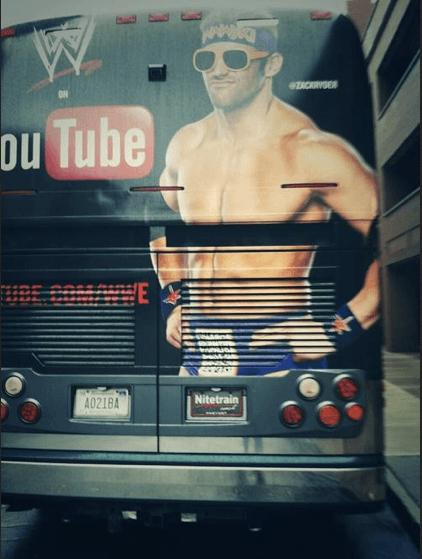 QR code on back of bus, The Myndset digital marketing brand strategy