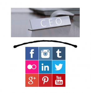 ceo on social media, myndset digital strategy