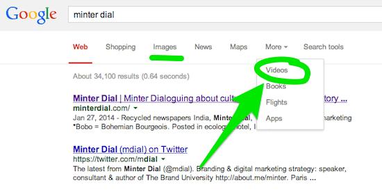 google search minter dial - the myndset digital marketing