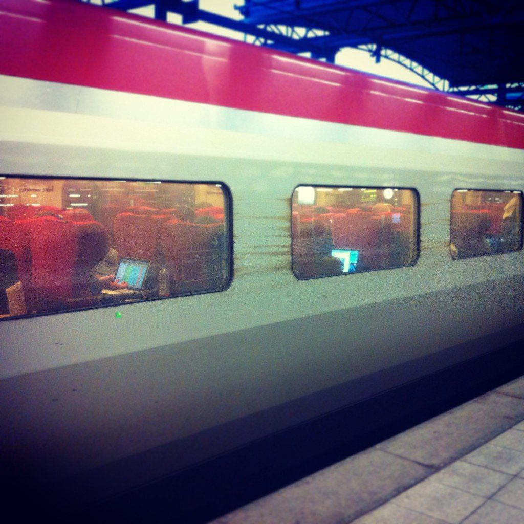 Thalys Train Digital connection, The Myndset Digital Marketing and Brand Strategy
