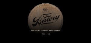 The Bruery age gate, the myndset digital marketing brand strategy