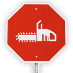 Topher White stopsign