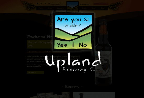 Upland Age Gate, The Myndset digital marketing brand strategy