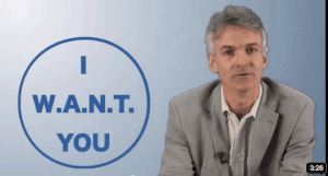 Youtube I Want You, by Minter Dial at The Myndset, Branding Gets Personal