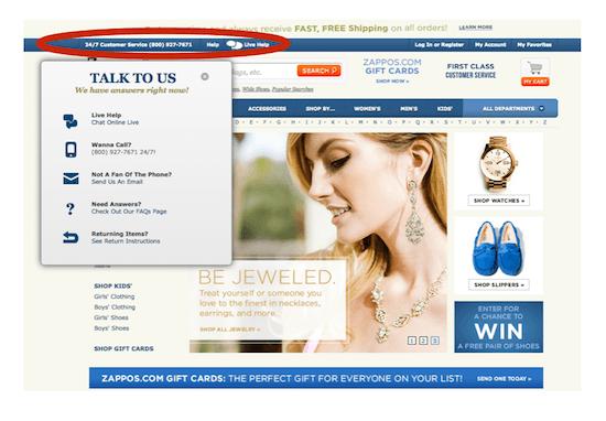 Zappos customer service - myndset digital strategy