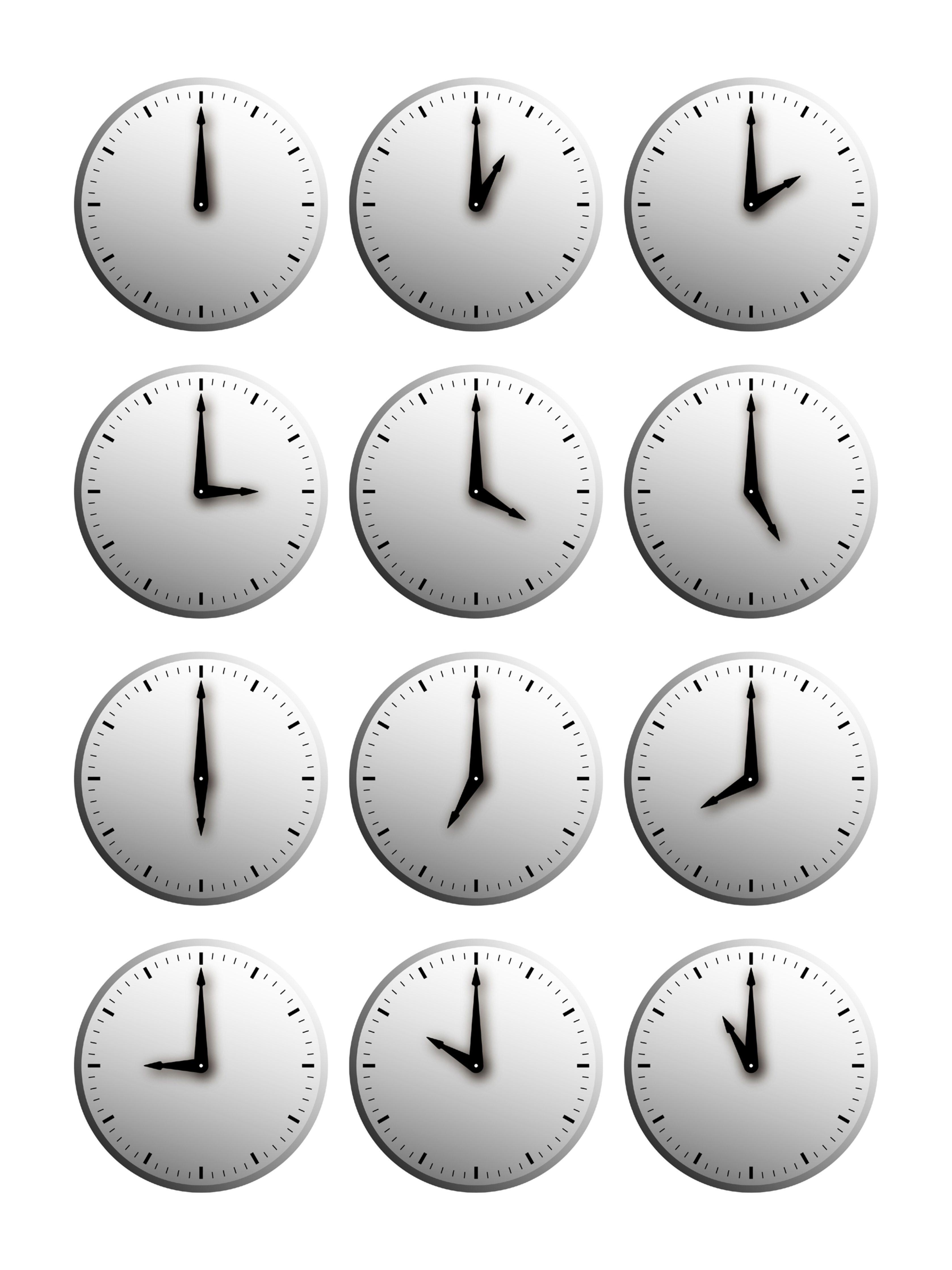 Clocking time