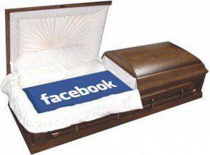 Facebook memorial casket