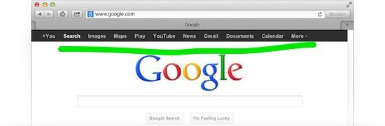 traditional google search home_page - the myndset digital marketing