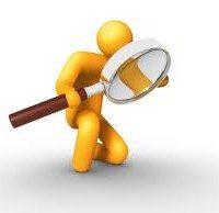 magnifying glass on analytics, the myndset digital marketing brand strategy