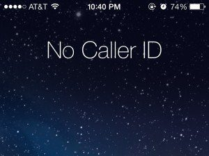 mobile phone etiquette no_caller_id - the myndset