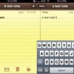 Notes on Iphone