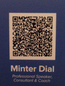 Digital Business Card QR CODE VCF, The myndset digital marketing