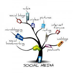 social media tree, the Myndset Digital Marketing & Brand Strategy