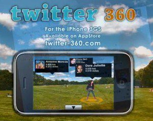 Twitter 360 Augmented Reality