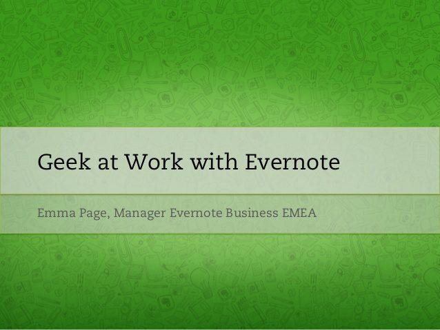 Evernote Emma Page, The Myndset digital marketing brand strategy