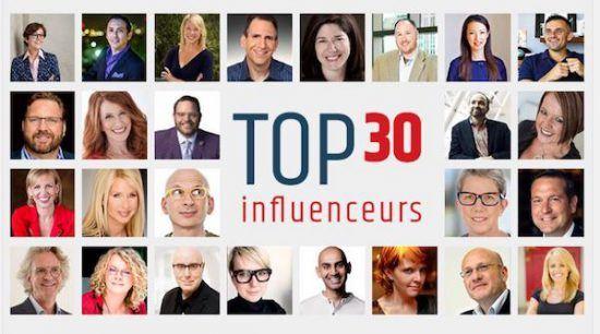 Top 30 influencers ExoB2B