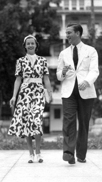 Minter and Lisa Porter Dial, NY, circa 1938