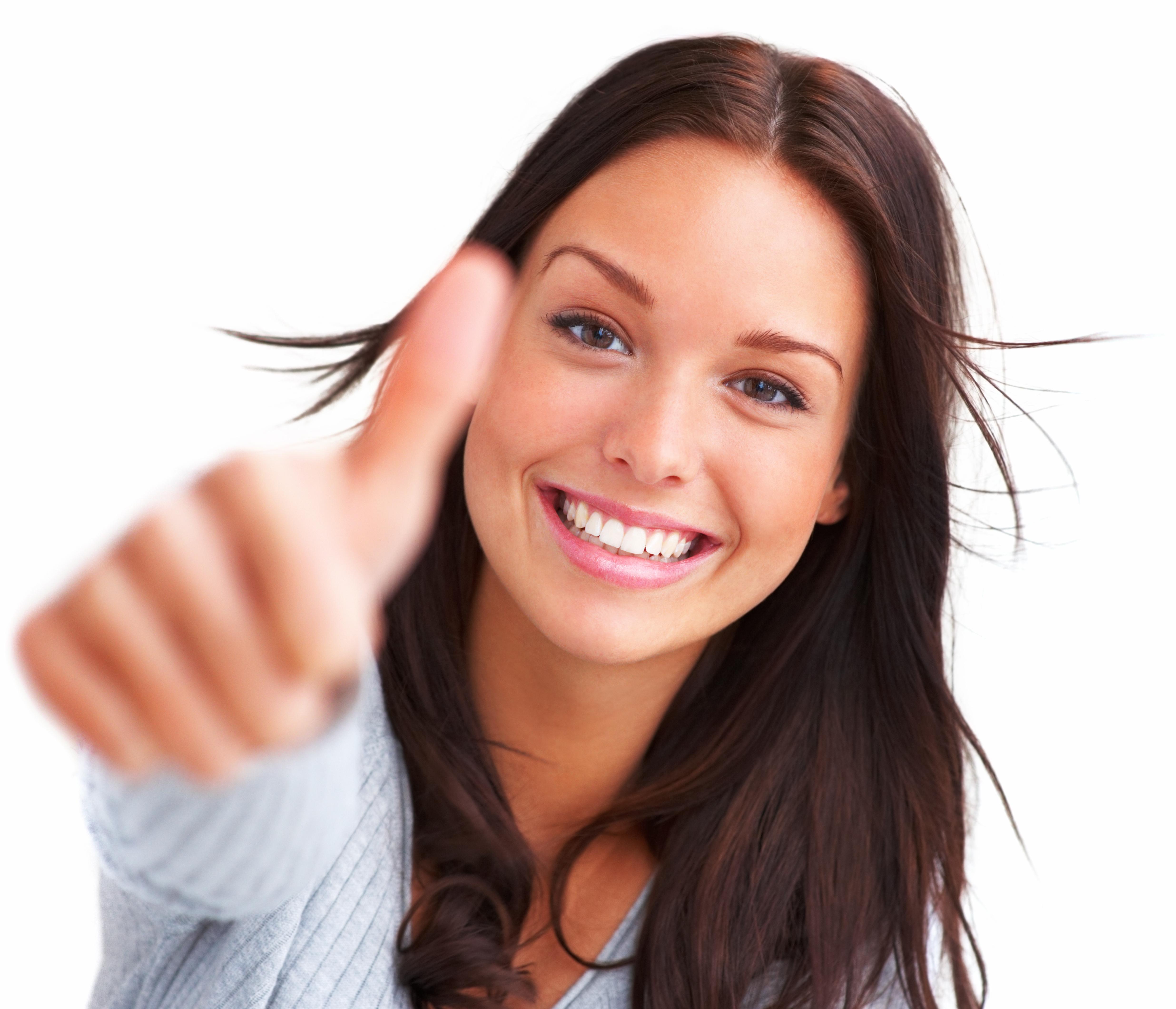 Happy woman Fotolia, via The Myndset Social Media Marketing
